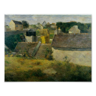 Paul Gauguin - Häuser bei Vaugirard Poster