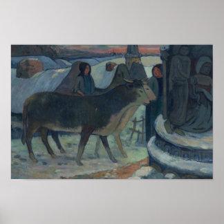 Paul Gauguin - Heilige Nacht Poster