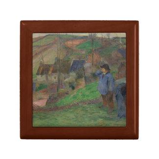 Paul Gauguin - Landschaft von Bretagne Schmuckschachtel