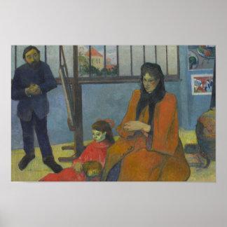 Paul Gauguin - Schuffeneckers Studio Poster