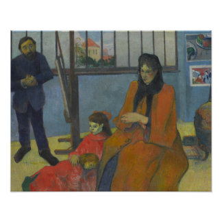 Paul Gauguin - Schuffeneckers Studio Poster