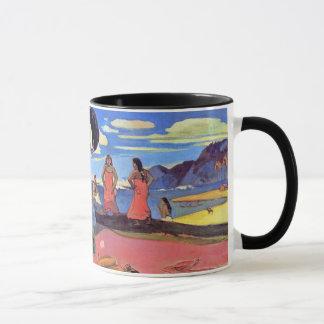 Paul Gauguin - Tag der Götter - Kunst-Malerei Tasse