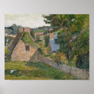 Paul Gauguin - The Field von Derout-Lollichon Poster