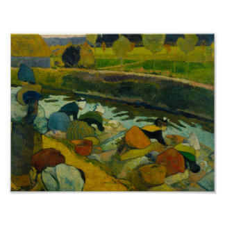 Paul Gauguin - Washerwomen Poster
