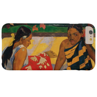 Paul Gauguin zwei Frauen Vintage feine Kunst Barely There iPhone 6 Plus Hülle
