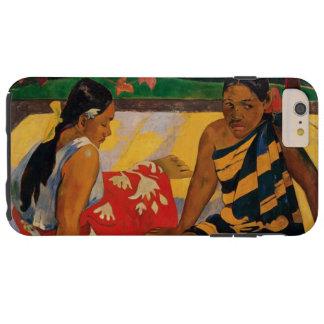 Paul Gauguin zwei Frauen Vintage feine Kunst Tough iPhone 6 Plus Hülle