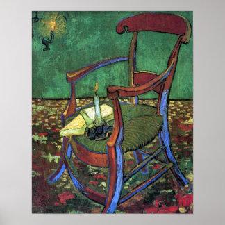 Paul Gauguins Lehnsessel durch Vincent van Gogh Poster