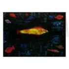 Paul Klee die Goldfisch-Goldfische Goldfisch Karte