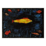 Paul Klee die Goldfish-wunderliche Poster
