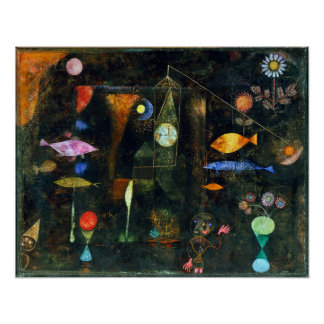 Paul Klee-Fisch-Magie Poster