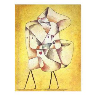 Paul Klee - Geschwister Postkarte