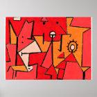 Paul Klee-Grafik, Hitze Poster