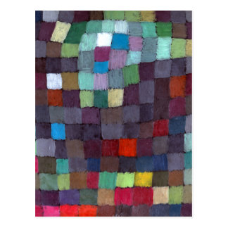 Paul Klee kann darstellen Postkarte