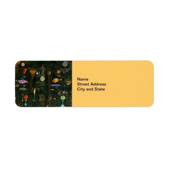 Paul Klee-Kunst: Fisch-Magie, berühmte Klee