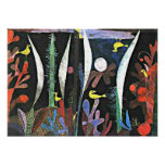 Paul Klee-Kunst: Landschaft mit gelben Vögeln Poster