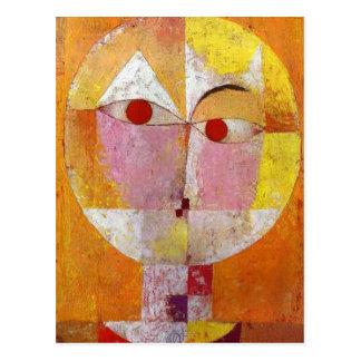 Paul Klee - Senecio Postkarte