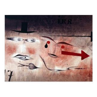 Paul Klee- siebzehn Postkarte