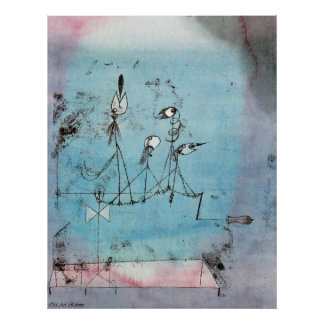 Paul Klee ~ Twittering Maschine Poster