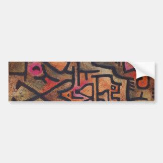 Paul Klee - Waldhexen Autoaufkleber