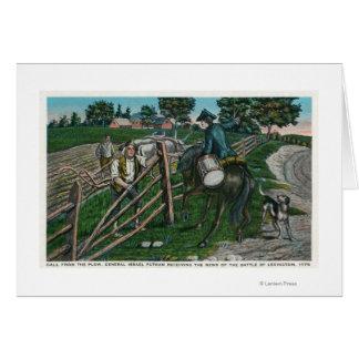 Paul Revere, der Generator Israel Putnam Karte