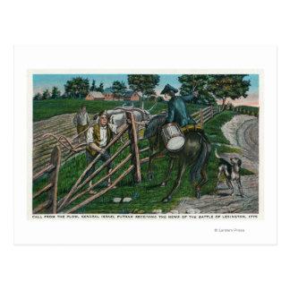 Paul Revere, der Generator Israel Putnam Postkarte