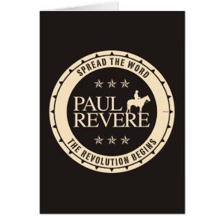 Paul Revere Karte