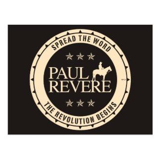 Paul Revere Postkarte