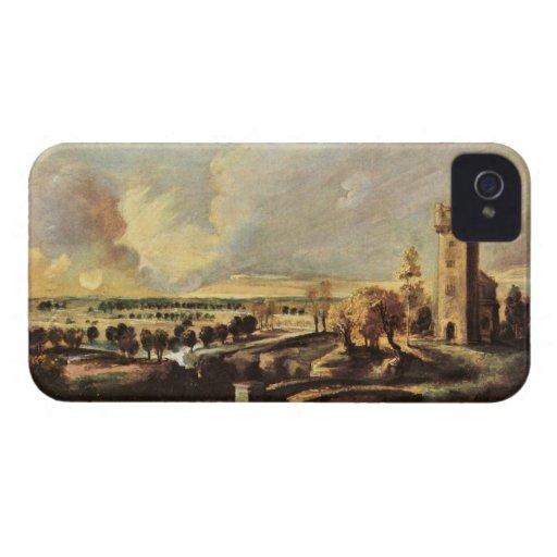Paul Rubens - gestalten Sie mit dem Turm der Form iPhone 4 Etuis