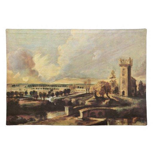 Paul Rubens - gestalten Sie mit dem Turm der Form  Tisch Sets