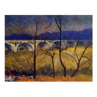 Paul Serusier- der Aquädukt Postkarten