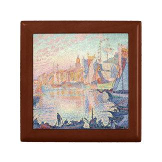 Paul Signac - der Hafen des Heiligen-Tropez Erinnerungskiste