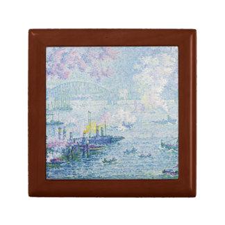 Paul Signac - der Hafen von Rotterdam Geschenkbox