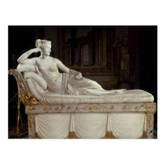 Pauline Bonaparte als Venus triumphierend, Postkarte