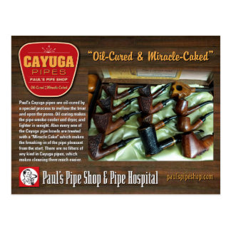Pauls Cayuga-Postkarte Postkarte