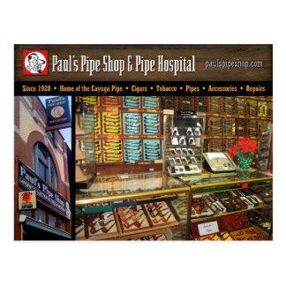 Pauls Rohr-Geschäfts-Postkarte Postkarte