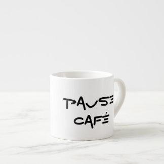 Pause-Café Espresso-Schale Espresso-Tassen