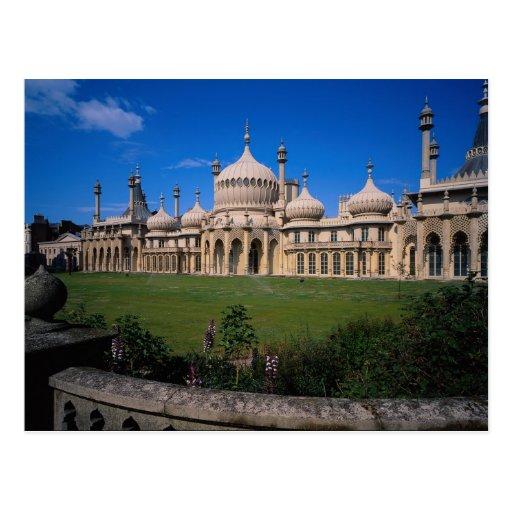 Pavillon, Brighton, Sussex, England, Postkarte