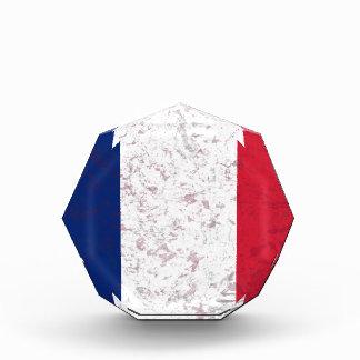 Pavillon De-La Frankreich-Flagge von Frankreich Acryl Auszeichnung
