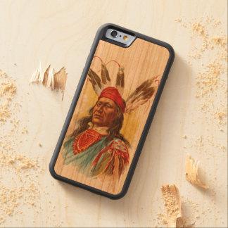 Pawnee-Sioux-Leiter: Hetzender Bär Bumper iPhone 6 Hülle Kirsche