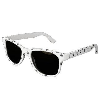 Pawprints - Schwarzweiss Brille