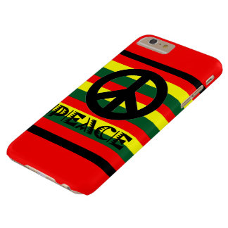 Paxspiration Rasta Frieden Barely There iPhone 6 Plus Hülle