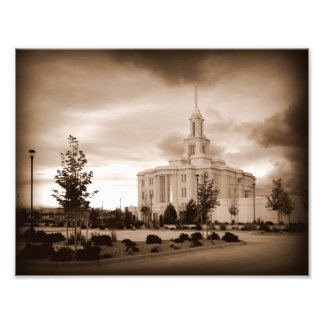 Payson, Tempel Utahs LDS Fotodruck