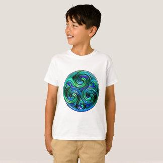 Pazifik bewegt den T - Shirt des Kindes