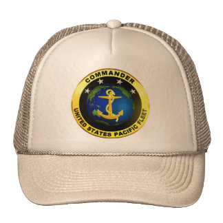 Pazifikflotte-Kommandant Mützen