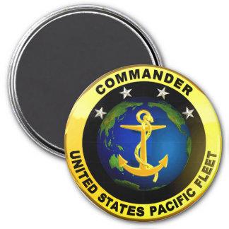 Pazifikflotte-Kommandant Runder Magnet 7,6 Cm