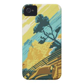 Pazifikküste-Landstraße iPhone 4 Hüllen