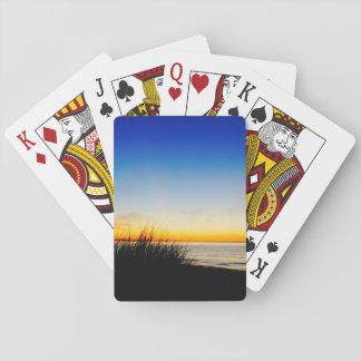 Pazifikküste-Strand Spielkarten