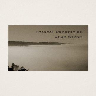 Pazifische Nebelküstenlinien-Braunperle Visitenkarte