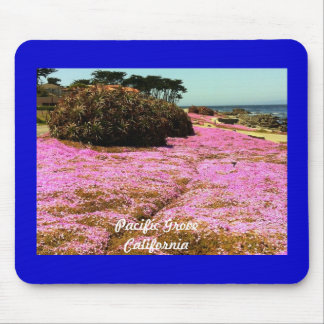 Pazifische Waldungs-Rosa-Blumen Mousepad