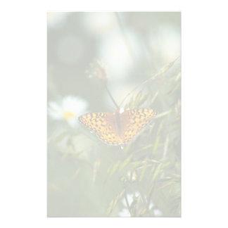 Pazifischer Fritillary-Schmetterling Briefpapier
